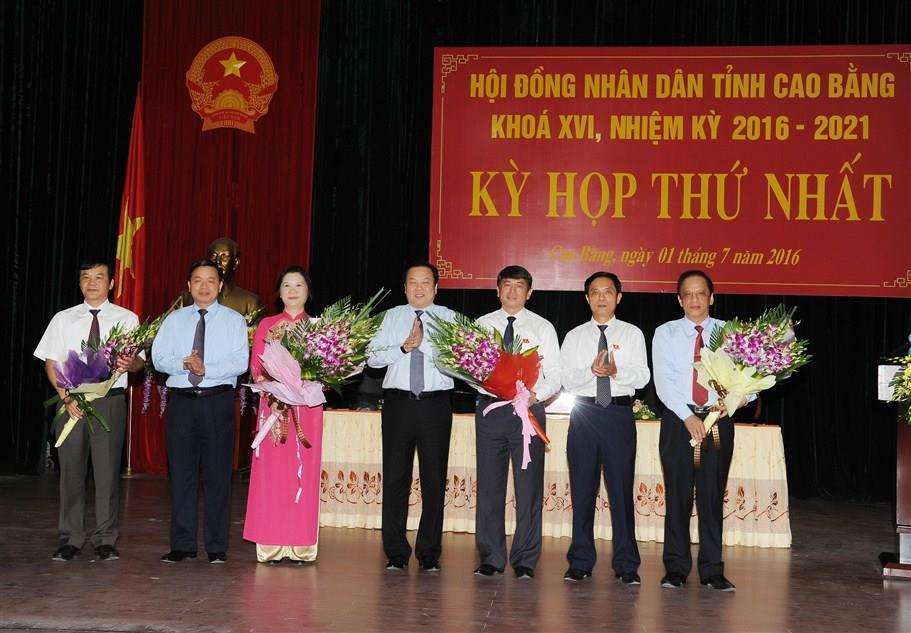 Kỳ họp thứ nhất, Hội đồng nhân dân tỉnh khóa XVI.