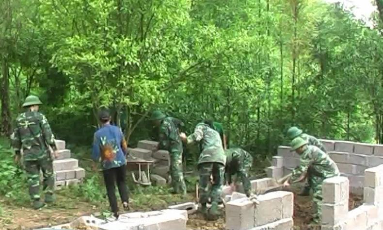 Đồn Biên phòng Cửa khẩu Trà Lĩnh với những hoạt động thiết thực xây dựng nông thôn mới