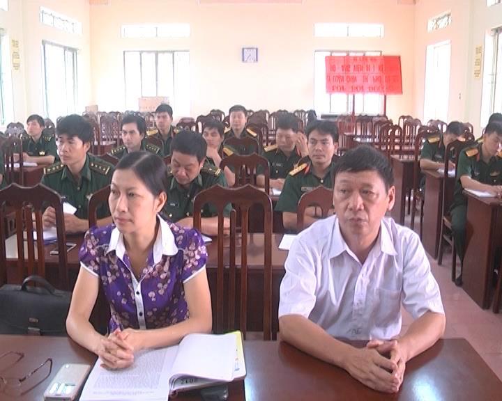 Hà Quảng: Bồi dưỡng kiến thức quốc phòng - an ninh cho đối tượng 4