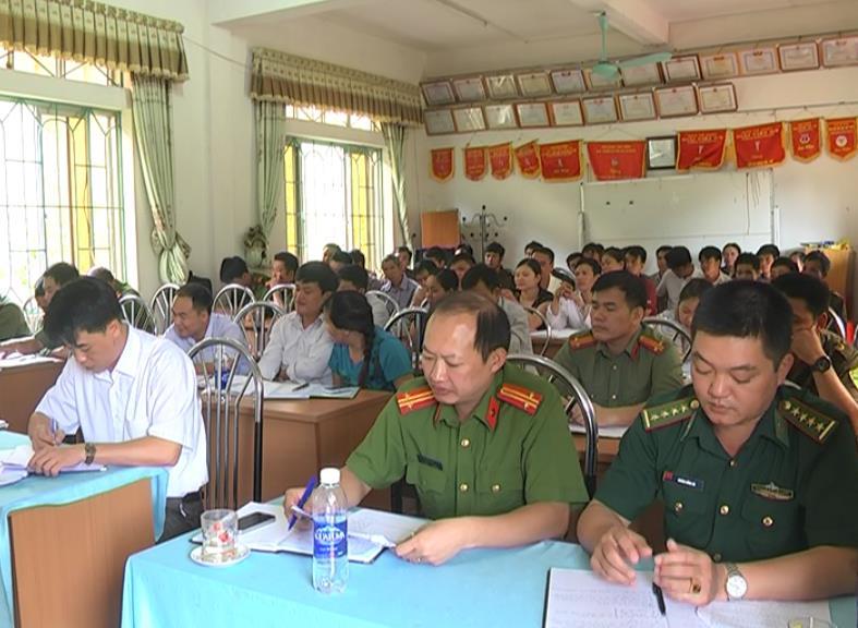 Hà Quảng: Phát động phong trào toàn dân bảo vệ an ninh Tổ quốc