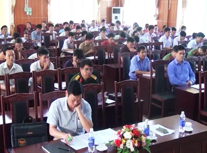Thông Nông: Hội nghị học tập, quán triệt và triển khai thực hiện Nghị quyết Đại hội XII của Đảng