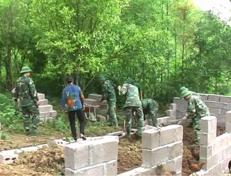Trà Lĩnh: Xóm Niếng Noọc di chuyển 100% chuồng trại gia súc ra khỏi gầm sàn nhà ở