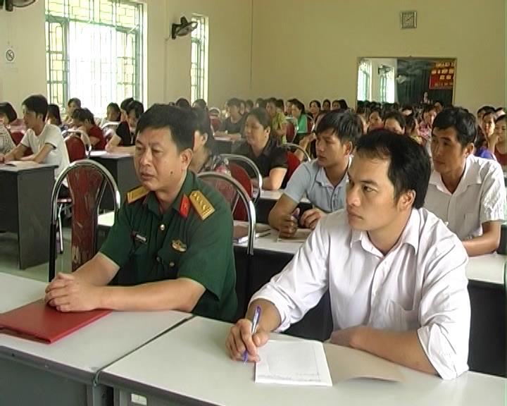 Nguyên Bình, Hạ Lang: Bồi dưỡng kiến thức quốc phòng - an ninh cho đối tượng 4