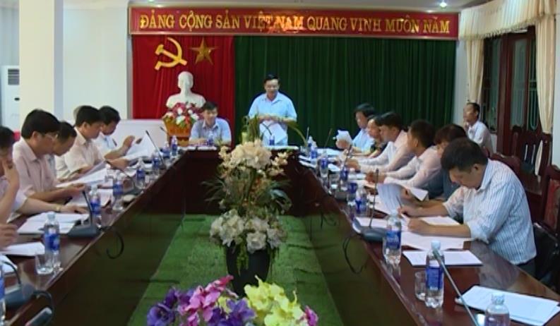Phó Bí thư Thường trực Tỉnh ủy: Phong Châu (Trùng Khánh) cần quyết liệt thực hiện các tiêu chí chưa đạt, phấn đấu đạt chuẩn NTM trong năm 2016
