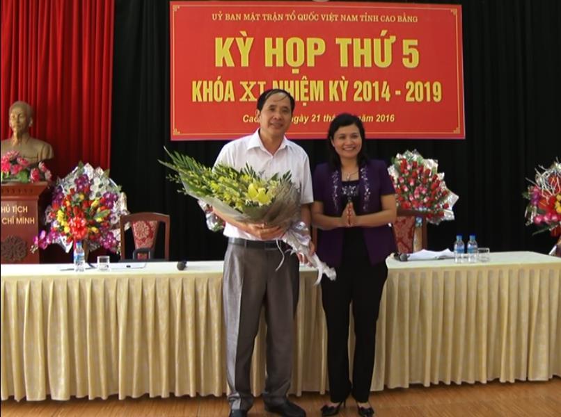 Đồng chí Nguyễn Văn Dừa, Trưởng Ban Dân vận Tỉnh ủy kiêm đảm nhận chức Chủ tịch Ủy ban MTTQ tỉnh