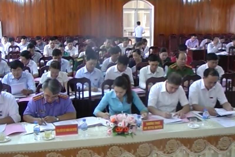 Kỳ họp thứ hai, HĐND huyện Nguyên Bình khoá XIX
