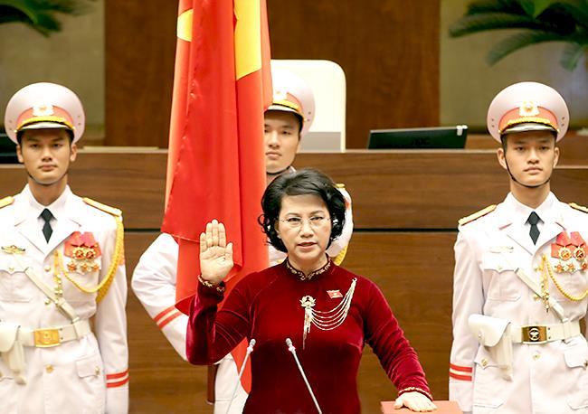 Lễ tuyên thệ nhậm chức của Chủ tịch Quốc hội