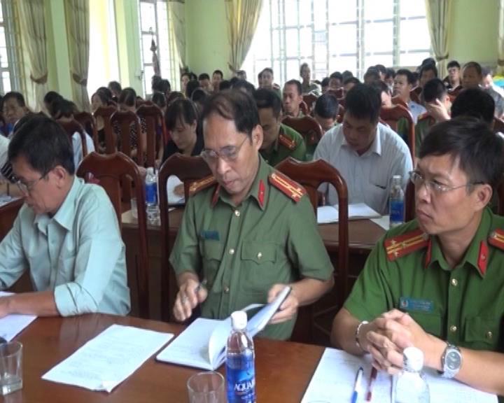 Hà Quảng: Phát động phong trào toàn dân bảo vệ ANTQ