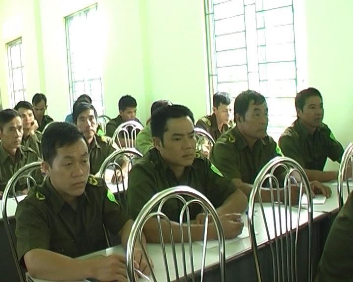 Trà Lĩnh: Bồi dưỡng nghiệp vụ công an viên lần thứ II năm 2016