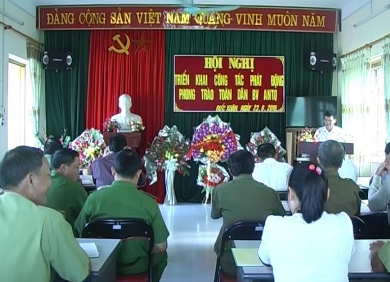 Thạch An: Phát động phong trào toàn dân bảo vệ an ninh Tổ quốc
