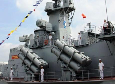 Tổ chức nghiệm thu cặp tàu tên lửa M5, M6