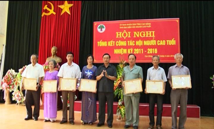 Tổng kết công tác Hội Người cao tuổi nhiệm kỳ 2011- 2016