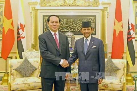 Tuyên bố chung Việt Nam-Brunei Darussalam