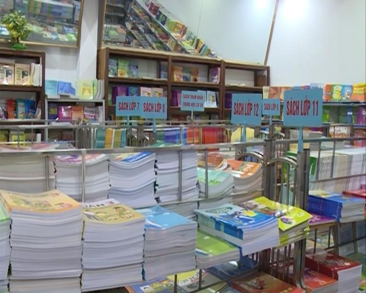 Cung ứng hơn 1,6 triệu cuốn sách giáo khoa và vở viết phục vụ năm học mới