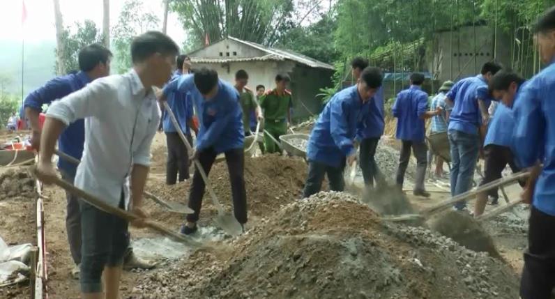 Trùng Khánh: Phong Châu gấp rút hoàn thiện các tiêu chí văn hóa