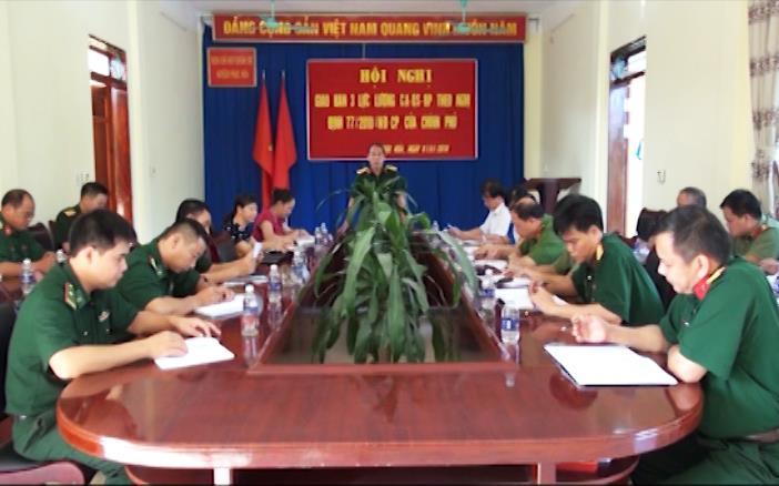 Phục Hòa: Hội nghị giao ban giữa ba lực lượng theo Nghị định 77 của Chính phủ