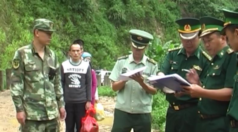 Bảo Lạc: Tiếp nhận 5 công dân Việt Nam sang Trung Quốc làm thuê trái phép