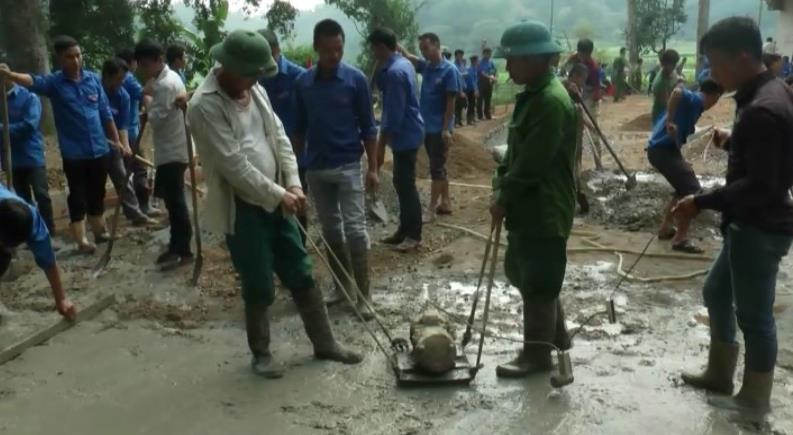 Trùng Khánh:Phong Châu đạt 16/19 tiêu chí nông thôn mới