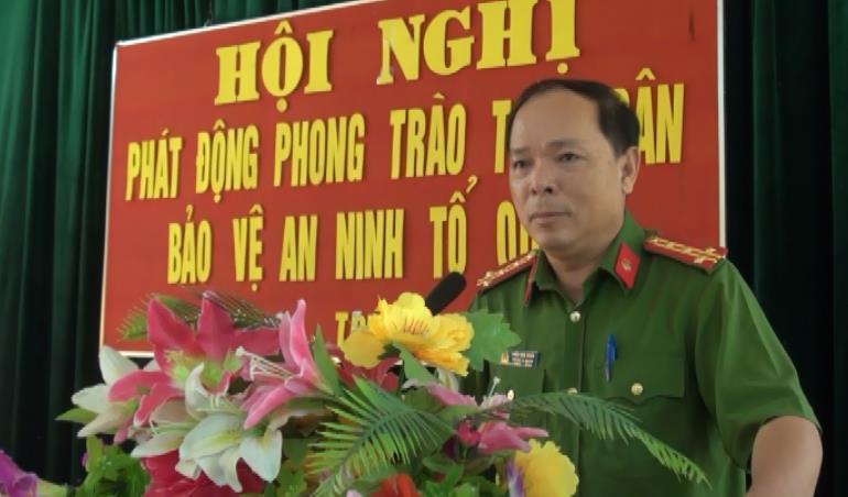 Phục Hòa: Phát động phong trào toàn dân bảo vệ an ninh Tổ quốc tại xã Triệu Ẩu