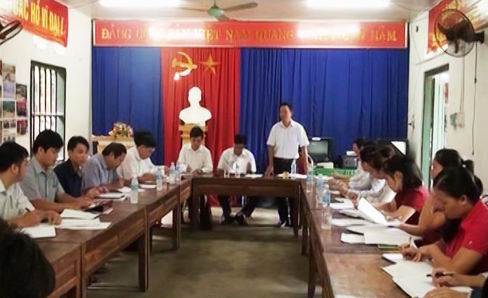 Bảo Lâm: Kiểm tra tiến độ xây dựng nông thôn mới tại xã Nam Quang