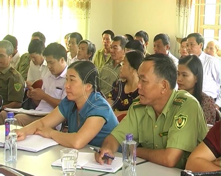 Hiệu quả từ phong trào Toàn dân bảo vệ an ninh Tổ quốc tại xã Đức Xuân, huyện Thạch An