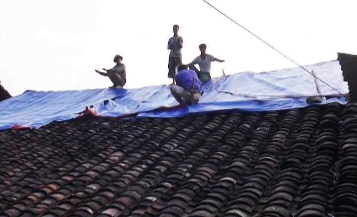 Phục Hòa: Cháy nhà tại xóm Hương Lỵ gây thiệt hại khoảng 100 triệu đồng