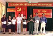 Trường Quân sự tỉnh bế giảng lớp bồi dưỡng kiến thức  Quốc phòng - an ninh đối tượng 3 khóa 53