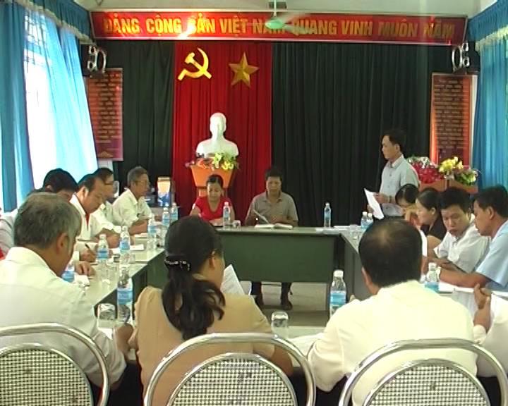 HĐND huyện Phục Hòa giám sát công tác tuyên truyền vận động nhân dân thực hiện Chương trình mục tiêu quốc gia về xây dựng nông thôn mới