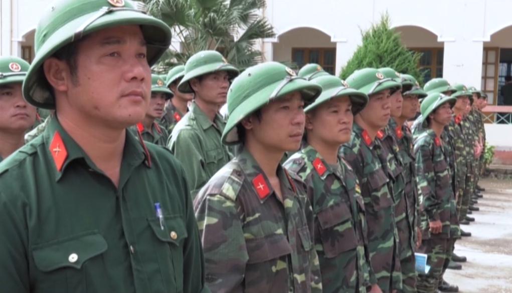 Hòa An, thành phố Cao Bằng: Kiểm tra sẵn sàng động viên quân nhân dự bị năm 2016