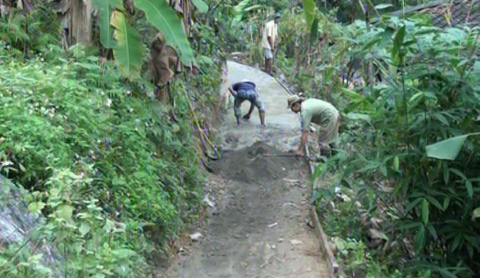 Bảo Lâm: Xã Vĩnh Quang làm 4 km đường giao thông nông thôn