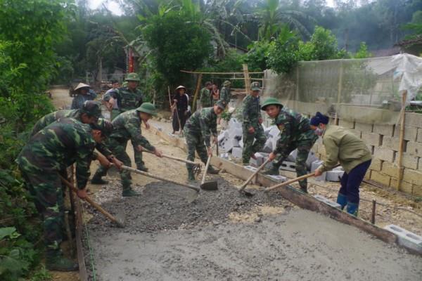 Bộ đội Biên phòng tỉnh: Giúp đỡ 4 xã biên giới phấn đấu đạt chuẩn nông thôn mới vào năm 2020