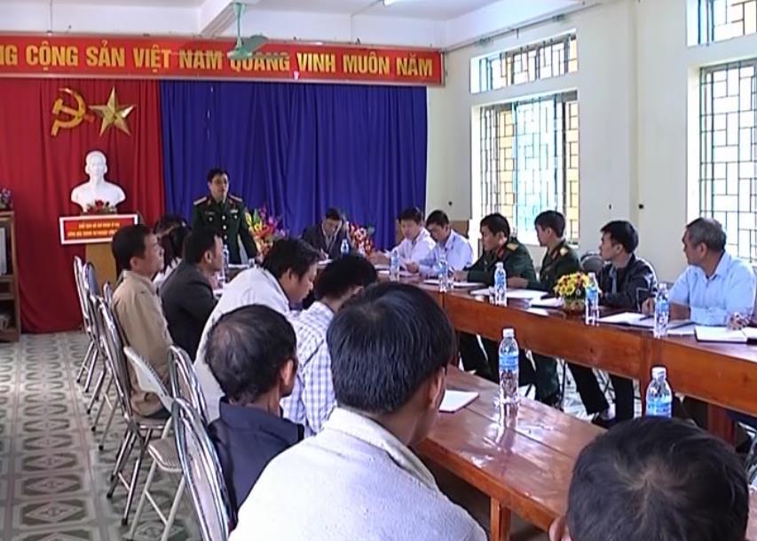Bộ CHQS tỉnh: Tuyên truyền công tác Tôn giáo tại xã Bảo Toàn (Bảo Lạc)