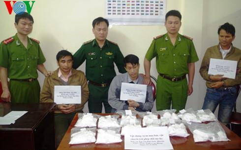 Cao Bằng: Triệt phá 170 vụ án ma túy, bắt 240 đối tượng