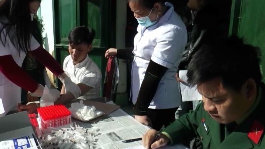 Trùng Khánh: Khám sức khỏe thực hiện nghĩa vụ quân sự cho 240 thanh niên