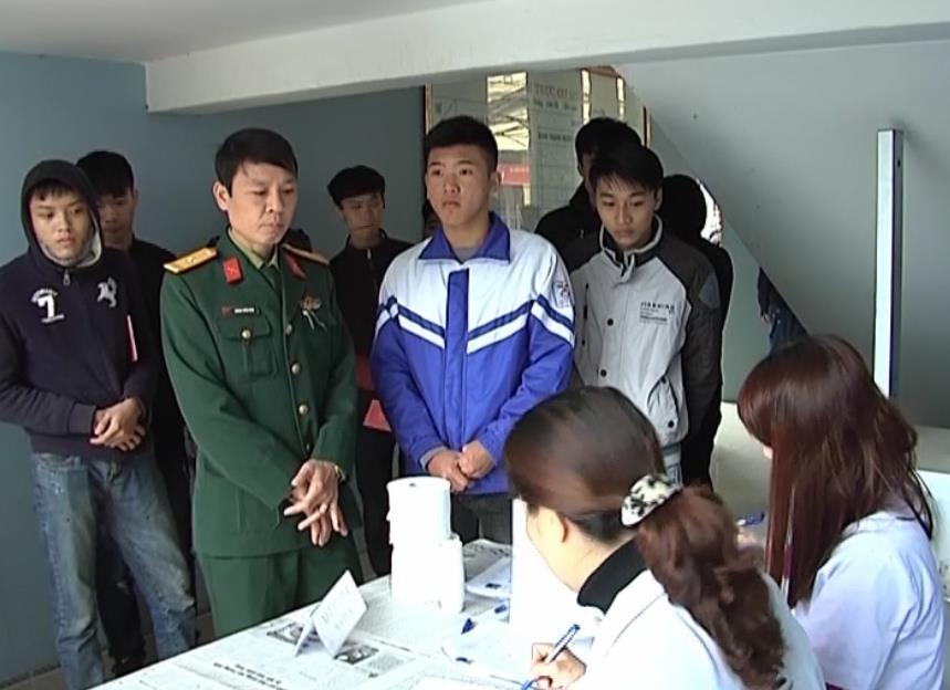 Thành phố: Khám tuyển nghĩa vụ quân sự cho 259 thanh niên