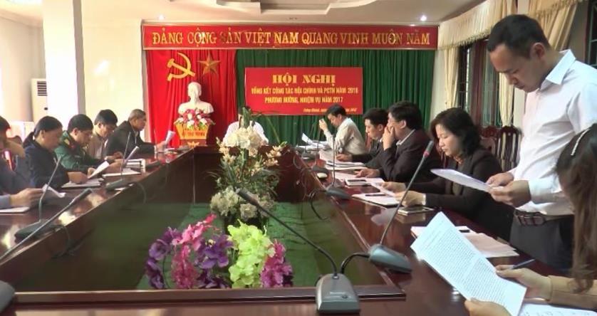 Trùng Khánh: Tổng kết công tác nội chính và phòng chống tham nhũng năm 2016