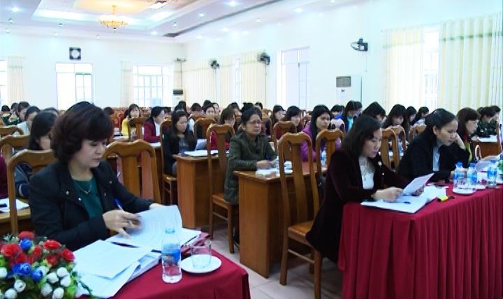 Hộ LHPN tỉnh: Hội nghị chuyên đề công tác thi đua khen thưởng
