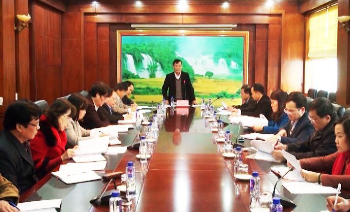 UBND tỉnh: Họp bàn đánh giá Chương trình tái cơ cấu nông nghiệp gắn với xây dựng nông thôn mới
