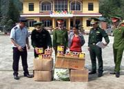 Trà Lĩnh: Bắt giữ 87 kg pháo các loại