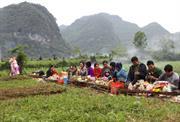 Tảo mộ - Phong tục đẹp của người Tày, Nùng Cao Bằng