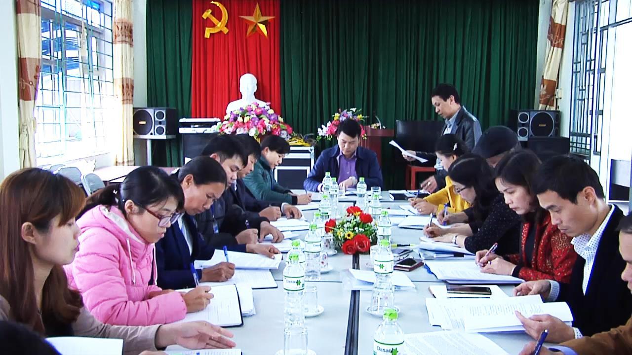 Thành phố: Kiểm tra tình hình thực hiện Chương trình Mục tiêu quốc gia xây dựng nông thôn mới tại xã Vĩnh Quang