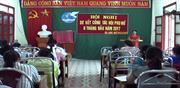 Hội LHPN Hạ Lang: Sơ kết công tác Hội 6 tháng đầu năm 2017