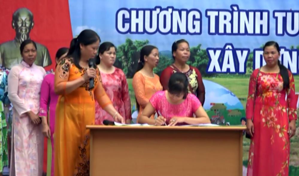 Hòa An: Tuyên truyền công tác xây dựng nông thôn mới tại xã Hồng Việt