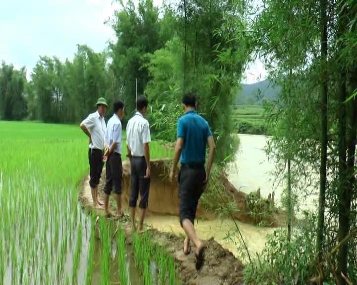 Trùng Khánh: Lãnh đạo huyện kiểm tra công tác phòng chống bão lụt