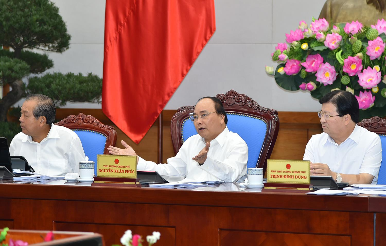 Thông cáo báo chí phiên họp Chính phủ thường kỳ tháng 6/2017