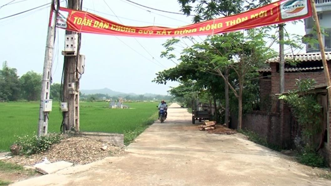 Xóm Đà Quận (Thành phố) đoàn kết xây dựng nông thôn mới