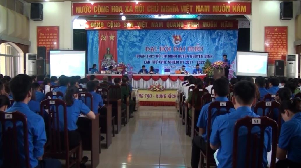 Đại hội Đoàn TNCS Hồ Chí Minh huyện Nguyên Bình lần thứ XVIII