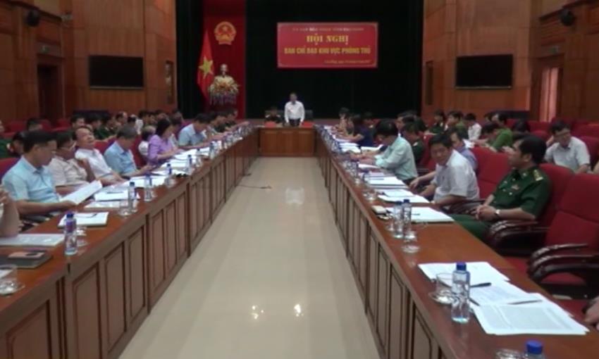 Ban Chỉ đạo Khu vực phòng thủ tỉnh: Triển khai nhiệm vụ những tháng cuối năm