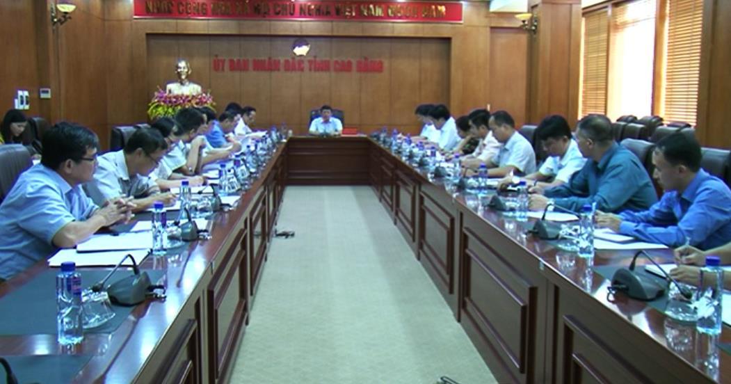Tập trung chuẩn bị tổ chức Lễ hội Du lịch thác Bản Giốc huyện Trùng Khánh gắn với Liên hoan Hát then - Đàn tính tỉnh Cao Bằng lần thứ nhất