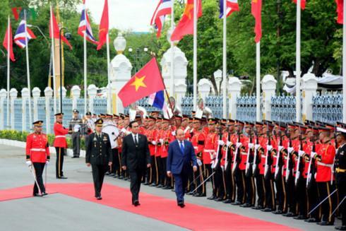 Thủ tướng Chính phủ Nguyễn Xuân Phúc kết thúc chuyến thăm Vương quốc Thái Lan
